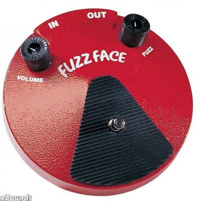 Fuzz Face Effect Pedal